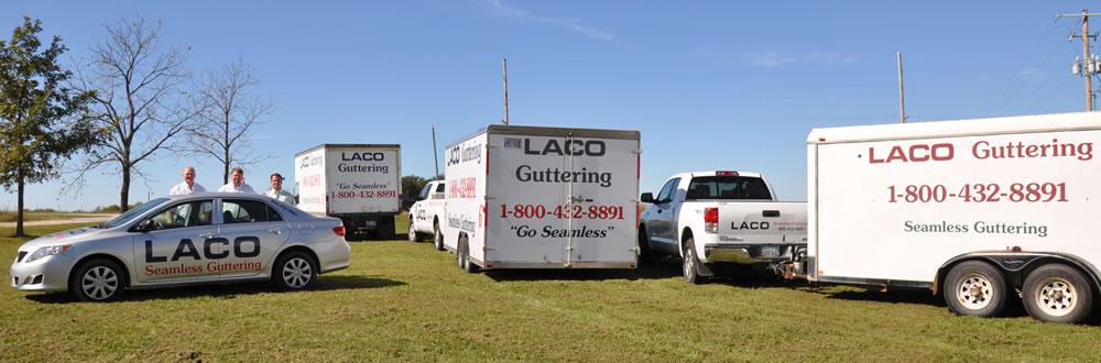 LACO Seamless Guttering